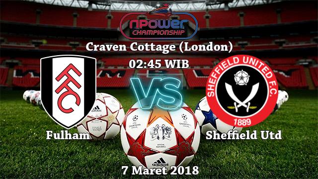 Prediksi Bola Terbaik Fulham vs Sheffield United